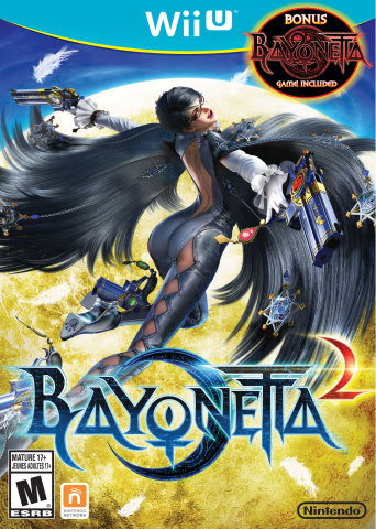 Bayonetta 2 Cover Art
