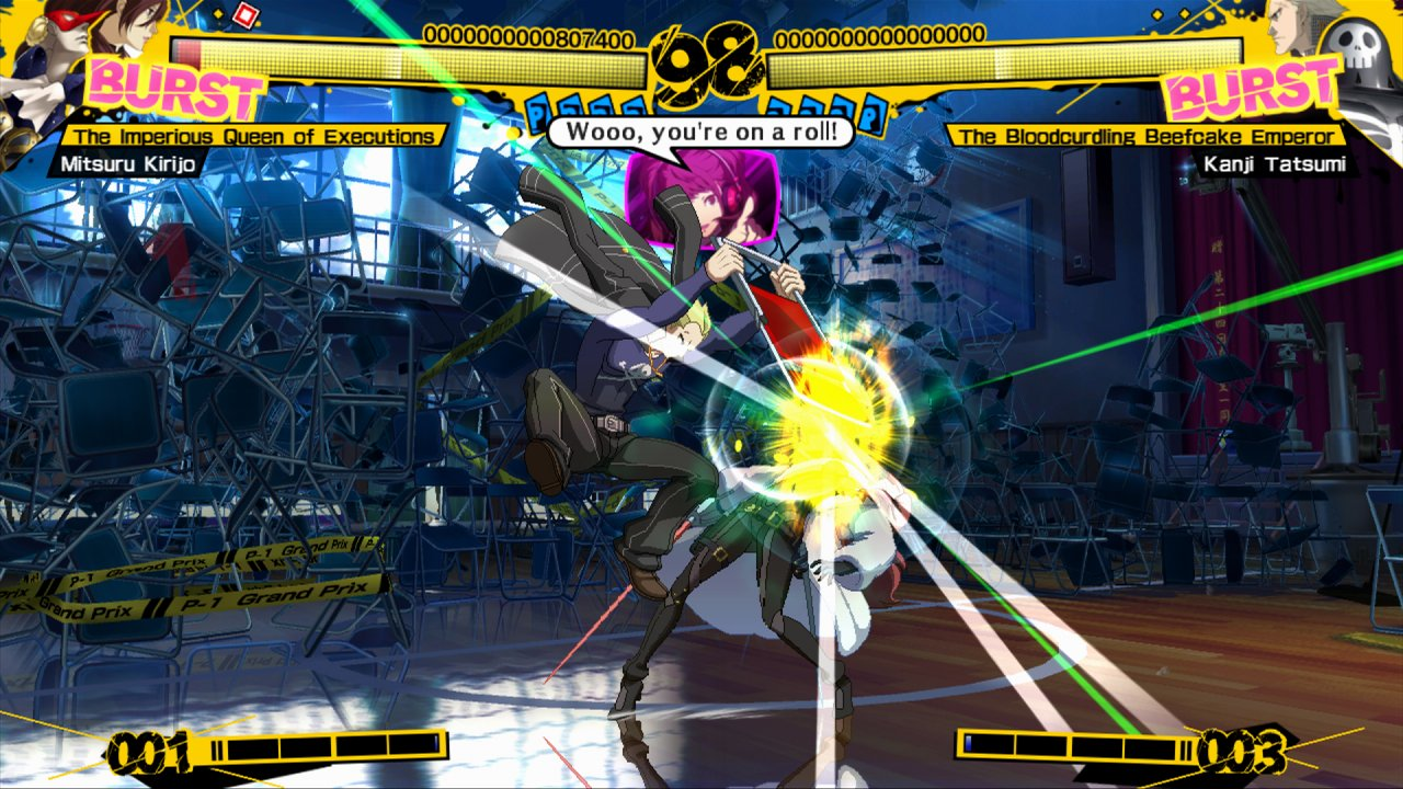 Persona 4 Arena Mitsuru: Taking A Step Into The Ring
