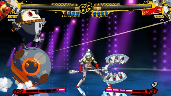 Persona 4 Arena Teddie Screenshot