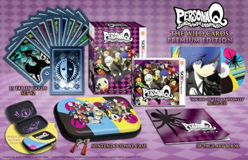 Persona Q Wild Cards Collectors Edition