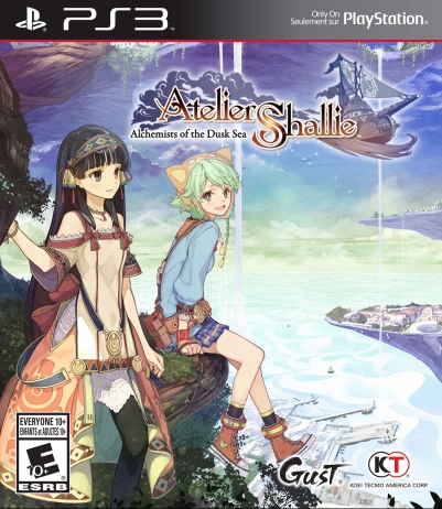 AtelierShallie PS3 boxart_FINAL
