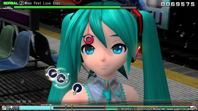 Game reviews blast away the game review - Hatsune miku project diva future ...