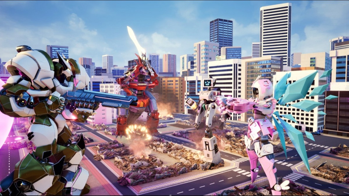 Override: Mech City Brawl is a mech-focused fighting game with coop features