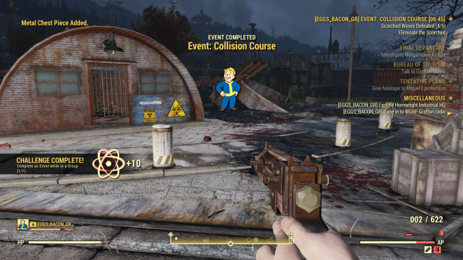 Review: Fallout 76 – War… War has changed | Blast Away the Game Review